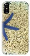 Blue Starfish IPhone Case