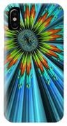 Blue Sun IPhone Case