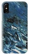 Blue Surf IPhone Case