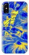 Blue Tango Floral IPhone Case