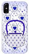 Blue Teapot - Kitchen IPhone Case