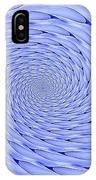 Blue Tip Whirlpool IPhone Case