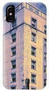 Blue Violet Belle Belle Shore Apt Hotel IPhone Case