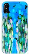 Blue Waterfalls And Teardrops IPhone Case