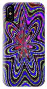 Blue White And Red Abstract #2944e2c IPhone Case