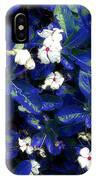 Blue White I IPhone Case