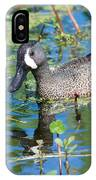 Blue-winged Teal IPhone Case