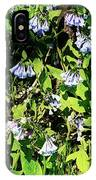 Bluebell 22 IPhone Case