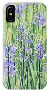 Bluebell Bluebells Flowers Blooming In Spring IPhone Case