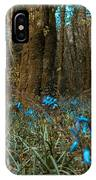 Bluebells In Lismore Forest IPhone Case