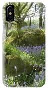 Bluebells On Dartmoor IPhone Case