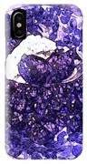 Blueberries For Breakfast IPhone Case