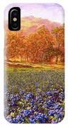 Blueberry Fields Season Of Blueberries IPhone Case