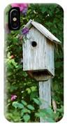 Bluebird Haven IPhone Case