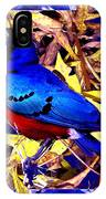 Bluebird Of Happiness IPhone Case