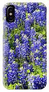 Bluebonnet Blues IPhone Case