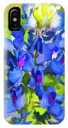 Bluebonnet Fantasy IPhone Case