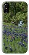 Bluebonnet Field IPhone Case