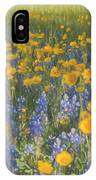 Bluebonnets And Wildflowers IPhone Case