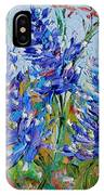 Bluebonnets Of Texas IPhone Case