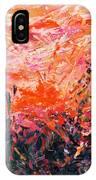 Bluegrass Sunrise - Crimson A-left IPhone Case