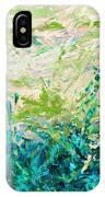 Bluegrass Sunrise - Jade A-left IPhone Case