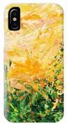 Bluegrass Sunrise - Lemon A-left IPhone Case