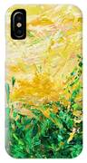 Bluegrass Sunrise - Olive A-left IPhone Case