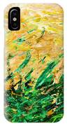 Bluegrass Sunrise - Olive B-right IPhone Case