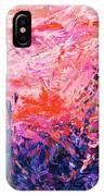 Bluegrass Sunrise - Rose A-left IPhone Case