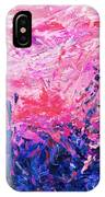 Bluegrass Sunrise - Violet A-left IPhone Case