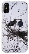 Blueherron Mating Time IPhone Case