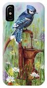 Bluejay Peaceful Perch IPhone X Case
