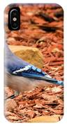 Bluejay Profile IPhone Case