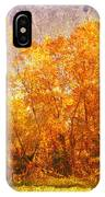 Gold Trees IPhone Case