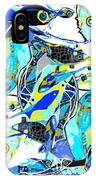 Blues Fishes IPhone Case