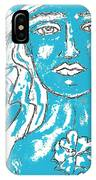 Blues Girl IPhone Case
