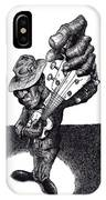 Blues Guitar IPhone X Case