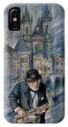 Blues Of Prague. IPhone Case