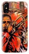 Blues On Bourbon Street IPhone Case