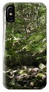 Bluestone State Park Mountain Stream West Virginia IPhone Case