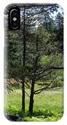 Bluff Lake Ca Through The Trees 8 IPhone Case