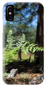 Bluff Lake Forest Foliage1 IPhone Case