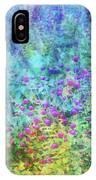 Blurred Garden 4798 Idp_2 IPhone Case