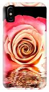 Blush Reflection IPhone Case