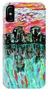 Blushing Metropolis IPhone Case
