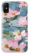 Blushing Prettily IPhone Case