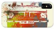 Bmw 2002 Front Watercolor 2 IPhone X Case