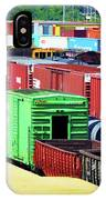 Bnsf Lindenwood Yard IPhone Case by Matthew Chapman
