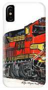 Bnsf IPhone Case